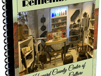 COOKBOOK – Recipes & Remembrances Keepsake Cookbook