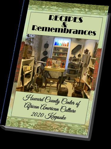 HCCAAC Recipes and Remembrances Keepsake Cookbook